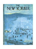 The New Yorker Cover - February 18  1956