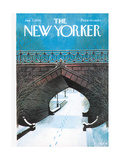 The New Yorker Cover - January 7  1974