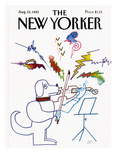 The New Yorker Cover - August 23  1982