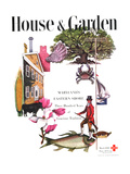 House &amp; Garden Cover - March 1946