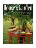 House & Garden Cover - April 1957