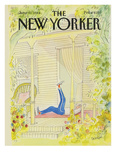 The New Yorker Cover - June 11  1984