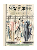 The New Yorker Cover - April 6  1935