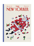 The New Yorker Cover - December 28  1987