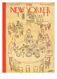 The New Yorker Cover - January 13  1945