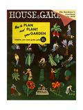 House & Garden Cover - January 1939