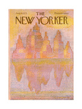 The New Yorker Cover - August 18  1975