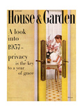 House & Garden Cover - January 1957
