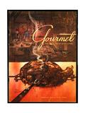 Gourmet Cover - February 1953