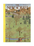 The New Yorker Cover - April 22  1950