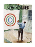 The New Yorker Cover - March 12  1960