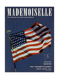 Mademoiselle Cover - July 1942