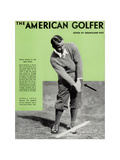 Gene Sarazen  The American Golfer April 1932