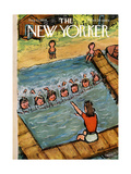 The New Yorker Cover - August 21  1954