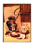 Gourmet Cover - October 1945