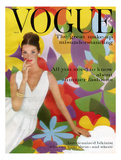 Vogue Cover - May 1959 - Flower Power