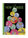 The New Yorker Cover - December 10  2007