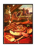 Gourmet Cover - October 1949