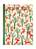 The New Yorker Cover - December 21  1957