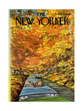 The New Yorker Cover - October 7  1974