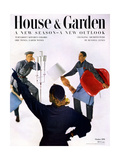 House &amp; Garden Cover - October 1951