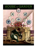 House & Garden Cover - April 1935