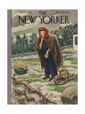 The New Yorker Cover - March 23  1946