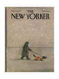 The New Yorker Cover - February 16  1987