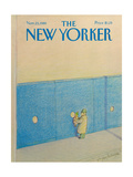 The New Yorker Cover - November 23  1981