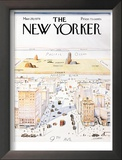 The New Yorker Cover  View of the World from 9th Avenue - March 29  1976