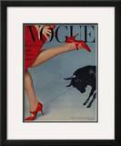 Vogue Cover - February 1958