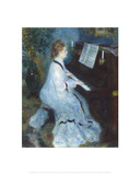 Woman at the Piano  1875/76