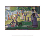 A Sunday on La Grande Jatte -- 1884  1884-86
