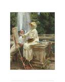 The Fountain  Villa Torlonia  Frascati  Italy  1907