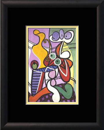 Nude and Still-life, 1931. Framed Art Print