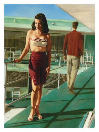 pin up photos. Pin-Up Girl: Caribbean Motel