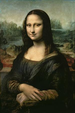 Mona Lisa c. 1507 artwork by Leonardo da Vinci