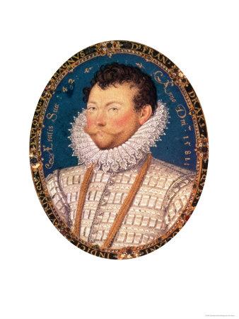 Sir Francis Drake 1581 Giclee