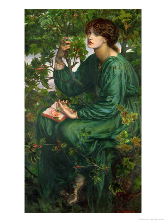 """Day Dream"", by Gabriel Rossetti"