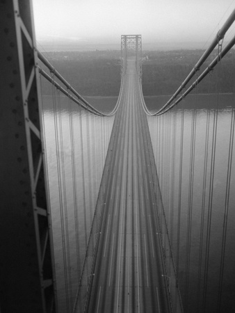 The George Washington Bridge Stretched Canvas Print