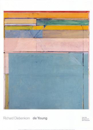Ocean Park 116 1979 abstract artwork by Richard Diebenkorn