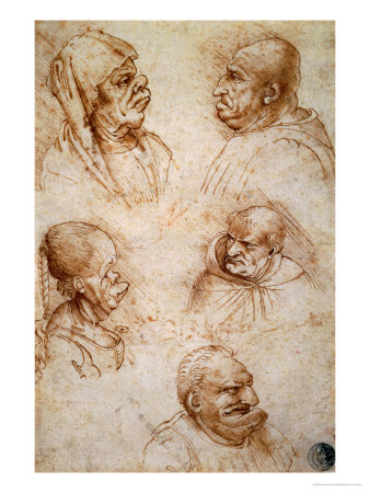 http://cache2.artprintimages.com/p/LRG/14/1499/XGQQ000Z/art-print/leonardo-da-vinci-five-studies-of-grotesque-faces.jpg