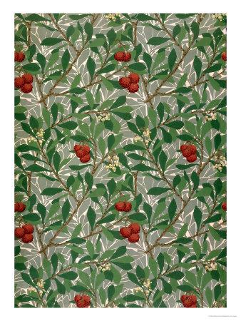 william morris wallpapers. Arbutus Wallpaper Design