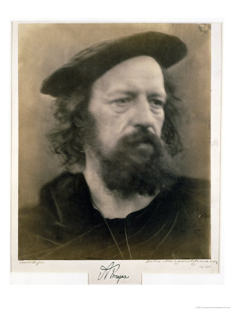 Portrait of Alfred, Lord Tennyson Giclee Print by Julia Margaret ...