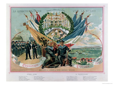 "Souvenir of the Franco-Russian Alliance, Illustration from ""Le ..."