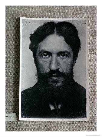 Piet Mondrian, circa 1910 photo noir et blanc