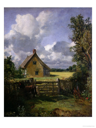 Cottage in a Cornfield 1833 painting artwork by John Constable