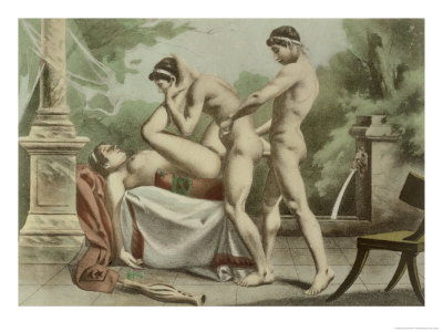 Ancient Times, Plate XVIII from &quot;De Figuris Veneris&quot; Giclee Print ...