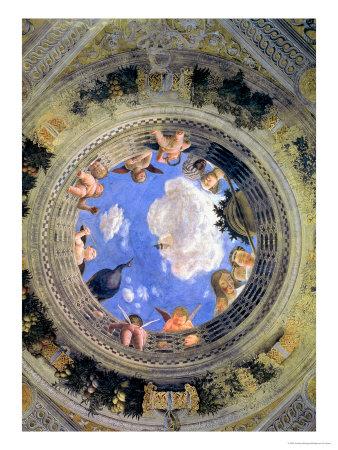 Camera degli sposi ceiling ceiling systems for La camera degli sposi di andrea mantegna