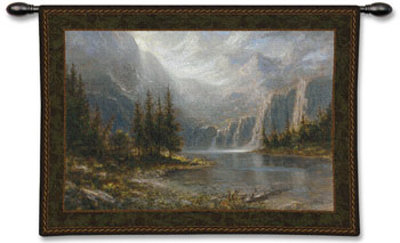 Mountain Heights Wall Tapestry by Jon McNaughton at Art.